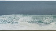 storm, 66x27cm, oil on board