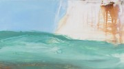 Float 122 x 61cm, oil on board
