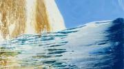Birling Gap 4, September 2018, 122 x 87cm, oil on board
